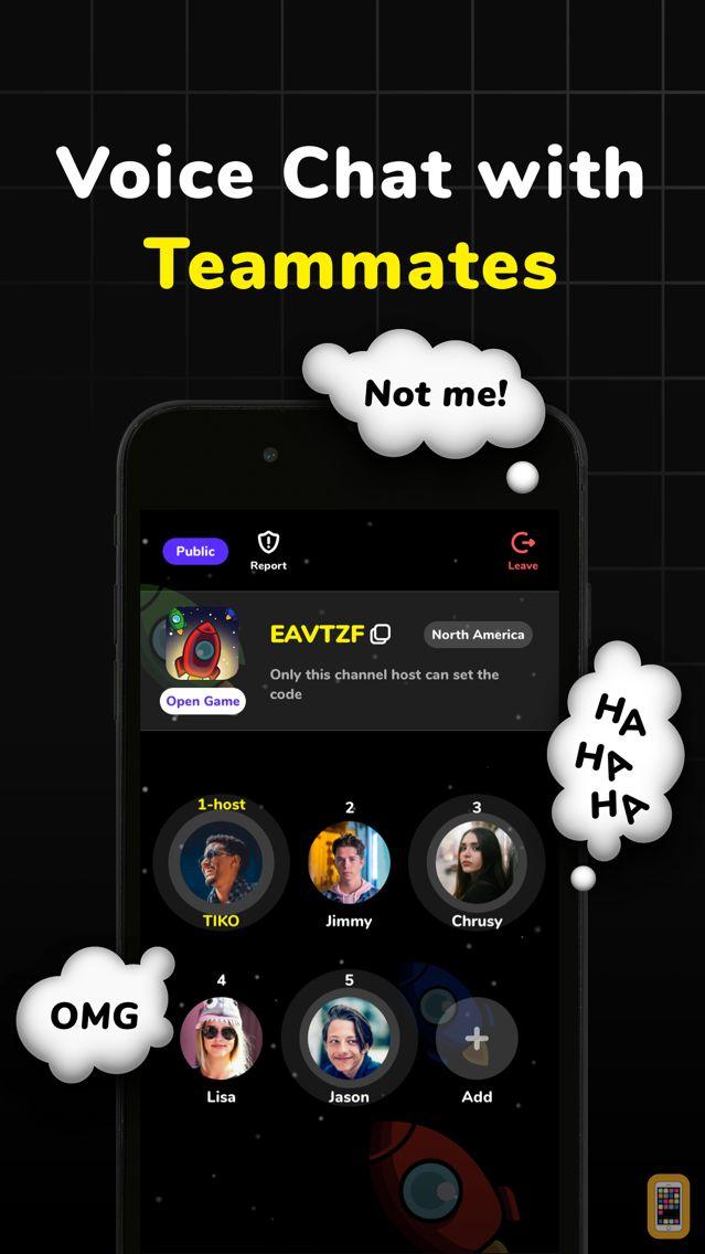 Screenshot - AmongChat, Crewmates Friends