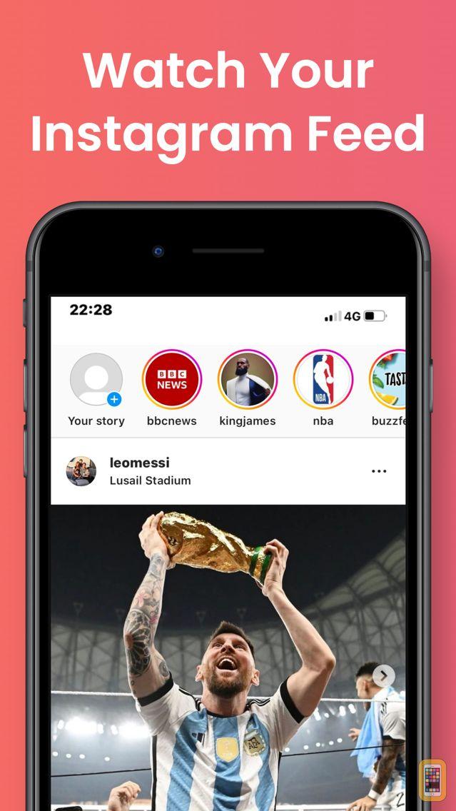 Screenshot - WatchApp for Instagram App
