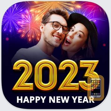 New Year Photo Frames - 2021 by Patel Gaurav (Universal)