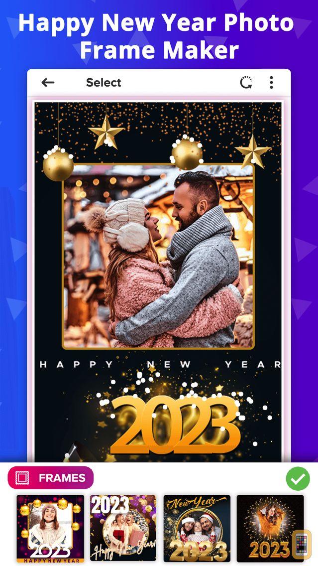 Screenshot - New Year Photo Frames - 2021