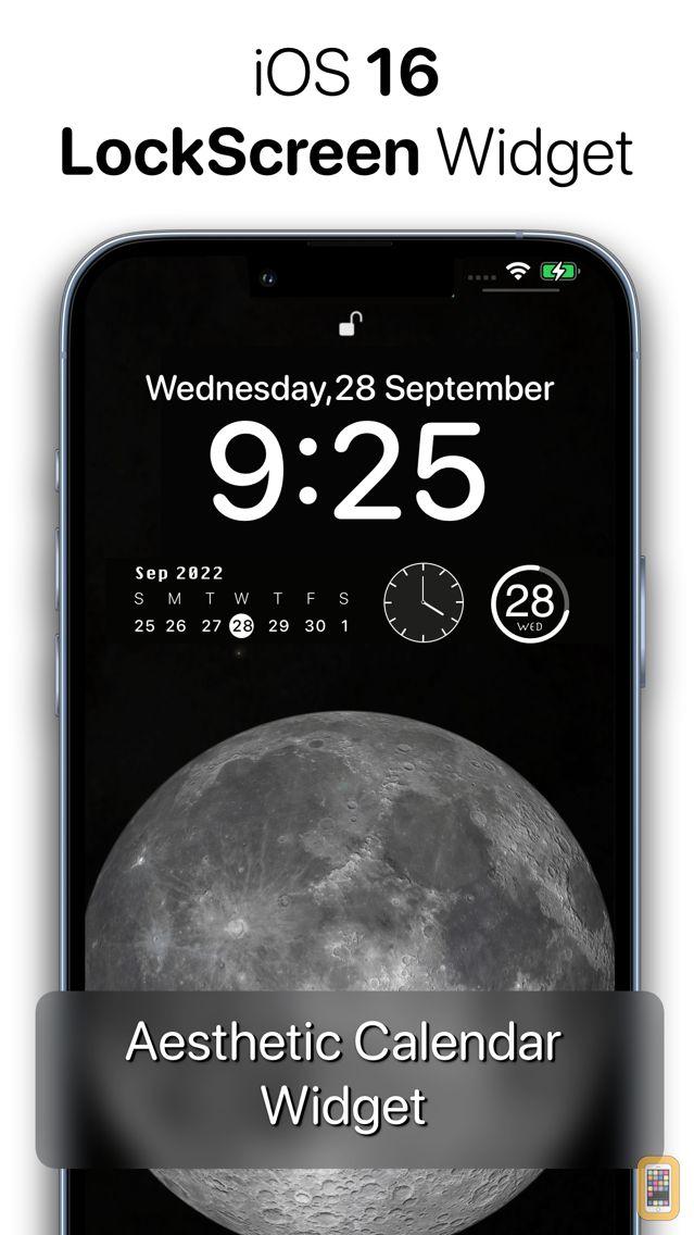 Screenshot - Calendar Widget - Date Widgets