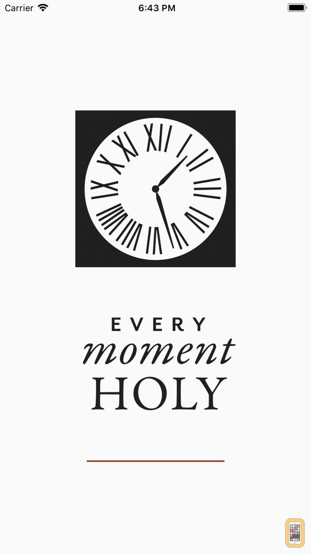 Screenshot - Every Moment Holy