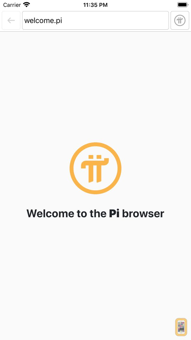 Screenshot - Pi Browser