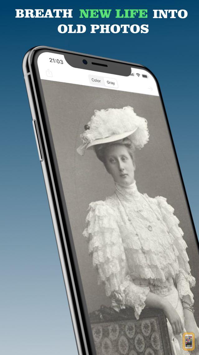 Screenshot - Colorize - Improve Old Photos