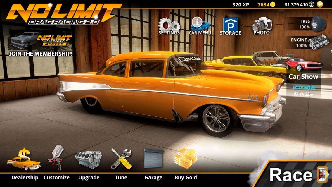 Screenshot - No Limit Drag Racing 2