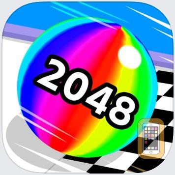 Ball Run 2048 by KAYAC Inc. (Universal)