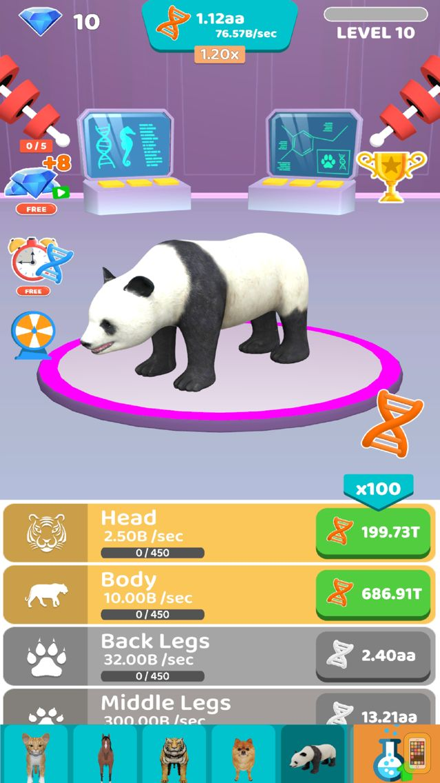 Screenshot - Idle Animal Evolution