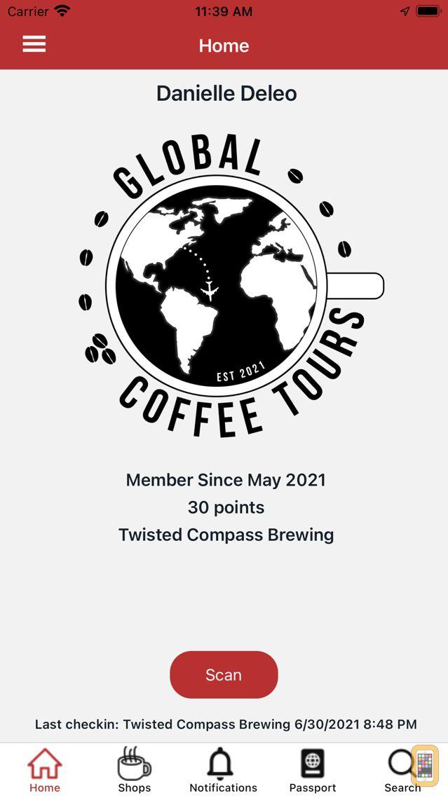 Screenshot - Global Coffee Tours