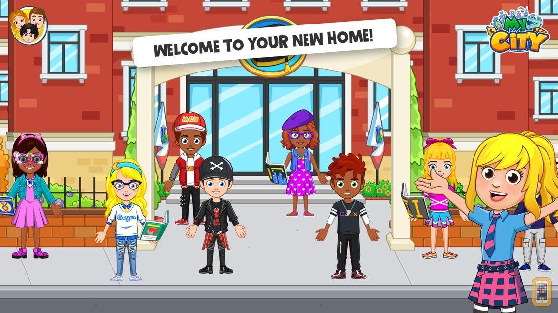 Screenshot - My City : College Dorm Friends