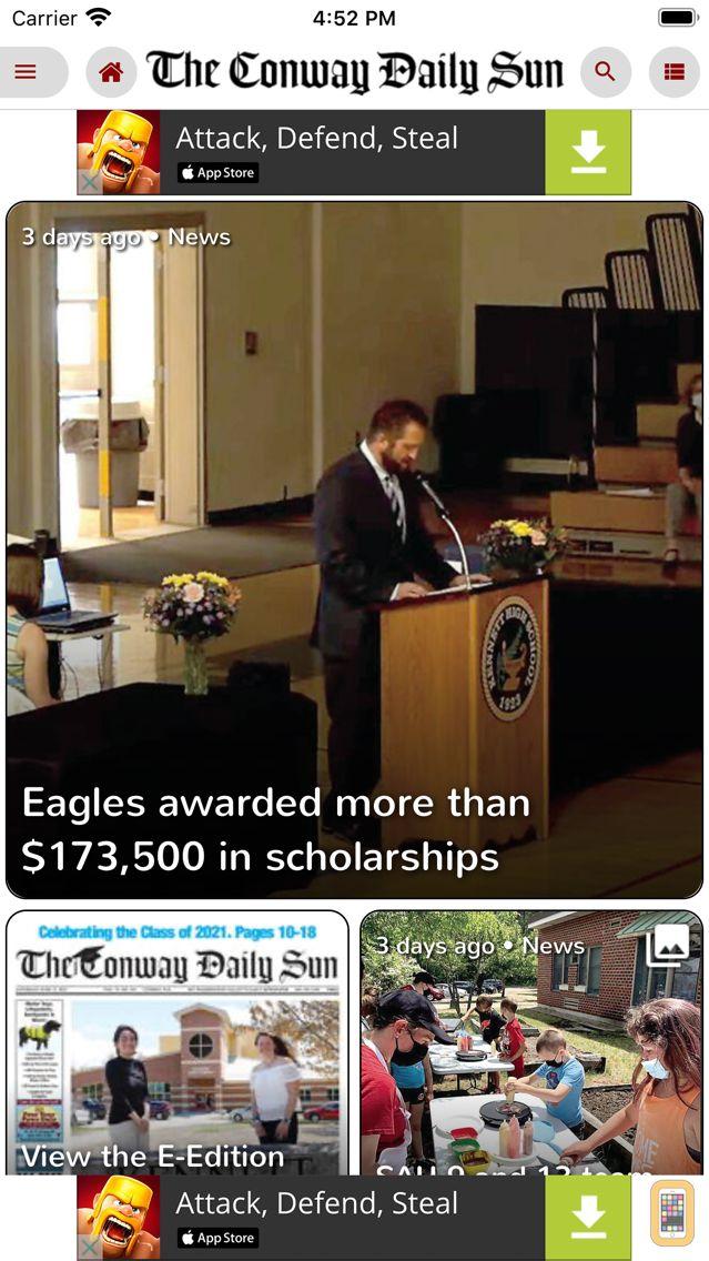 Screenshot - The Conway Daily Sun Replica