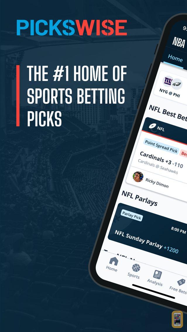 Screenshot - Pickswise: Sports Picks & Odds