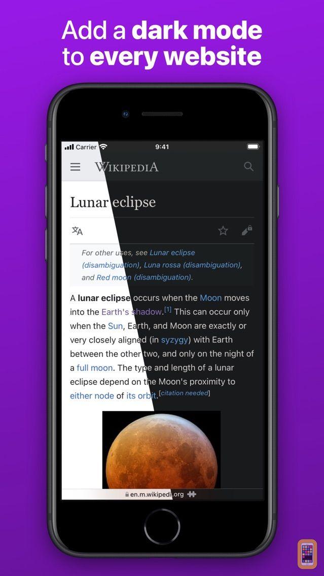 Screenshot - Noir - Dark Mode for Safari