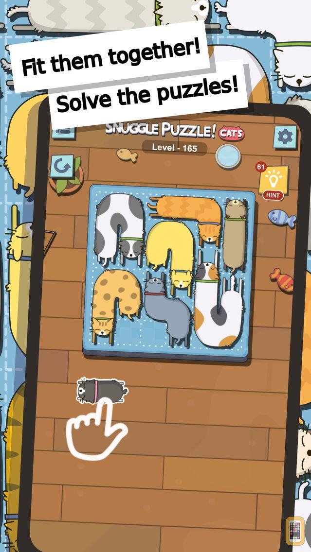 Screenshot - Snuggle Puzzle Cat Game