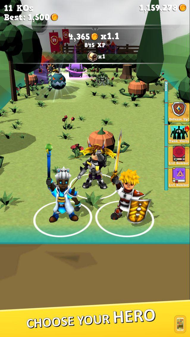 Screenshot - Battle Rush: Heroes Royale