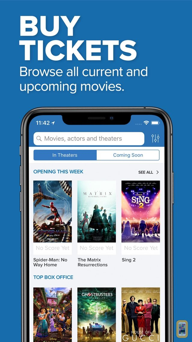 Screenshot - Movies by Flixster, with Rotten Tomatoes