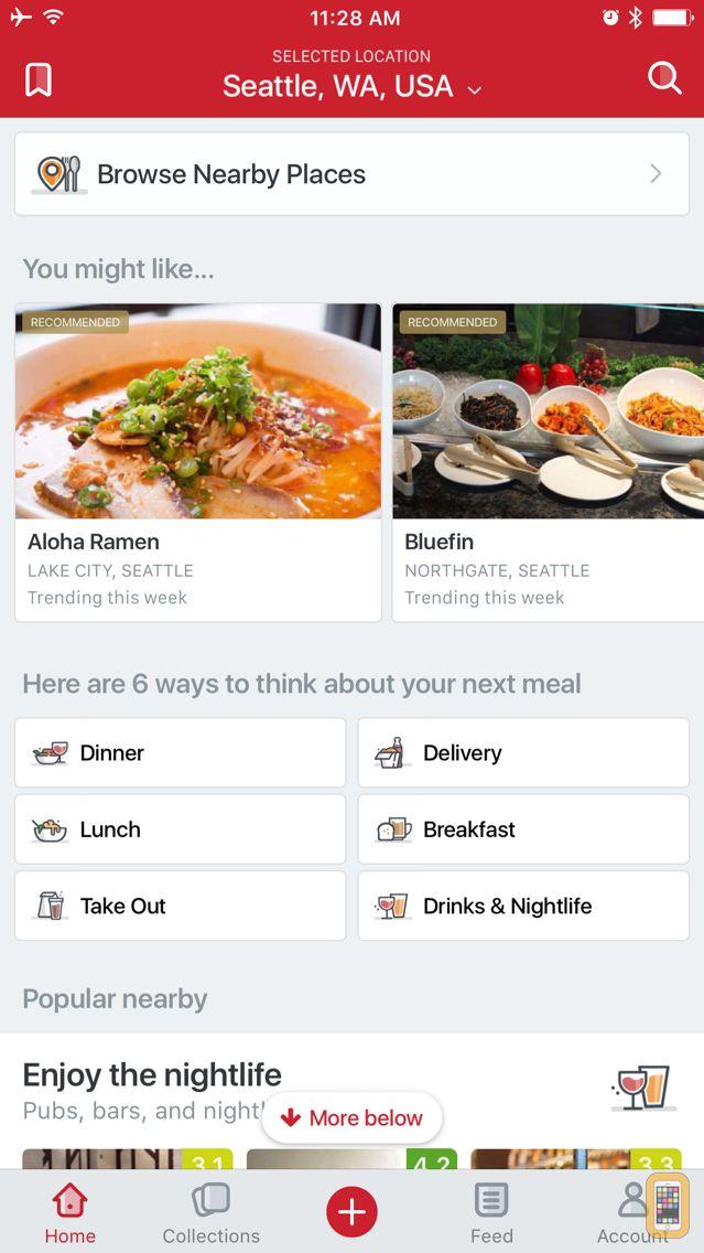 Screenshot - Urbanspoon - Restaurant & Food Reviews