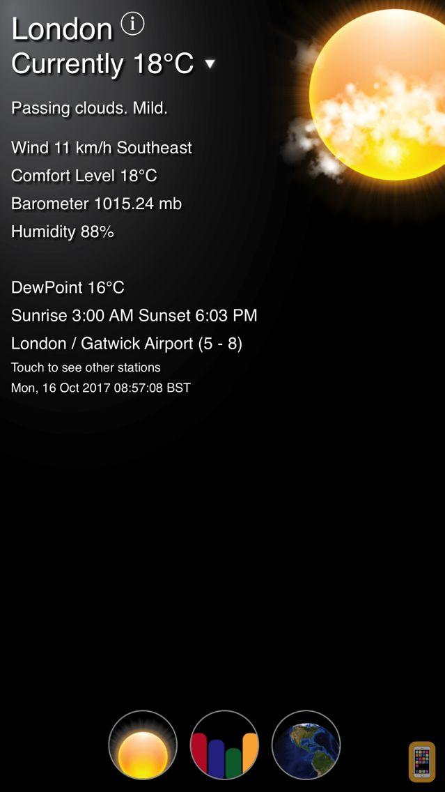Screenshot - Fizz Weather