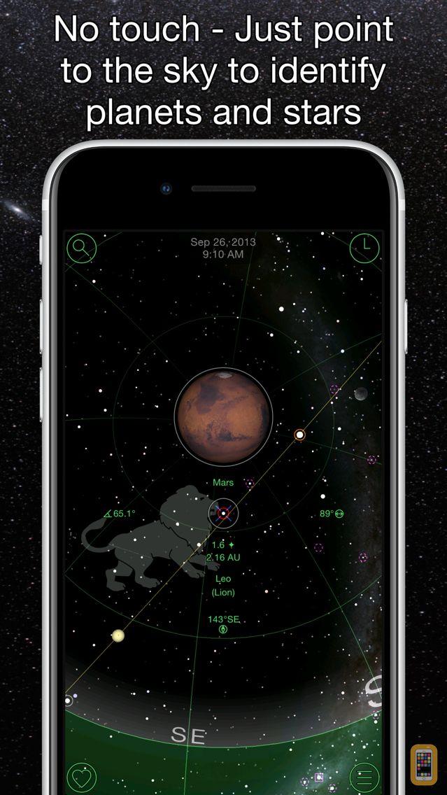 Screenshot - GoSkyWatch Planetarium