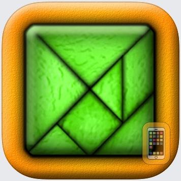 TanZen - Relaxing tangram puzzles by Little White Bear Studios, LLC (iPhone)