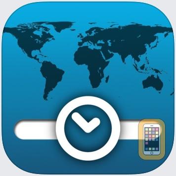 TimeScroller - timezone helper by Terry Brett (iPhone)