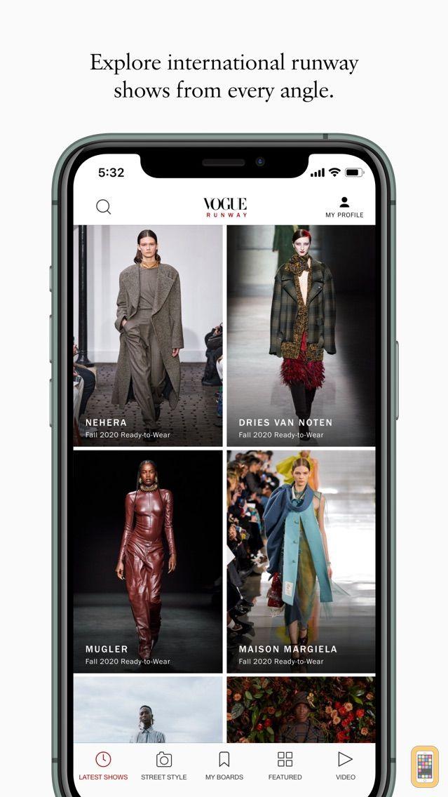 Screenshot - Vogue Runway Fashion Shows