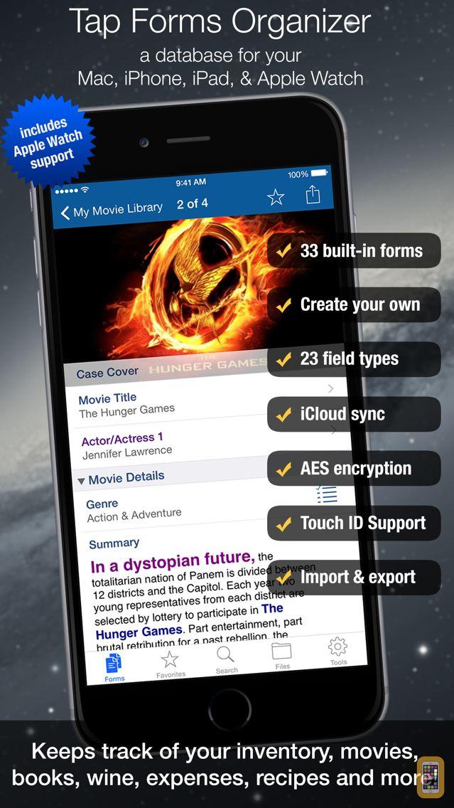 Screenshot - Tap Forms Organizer