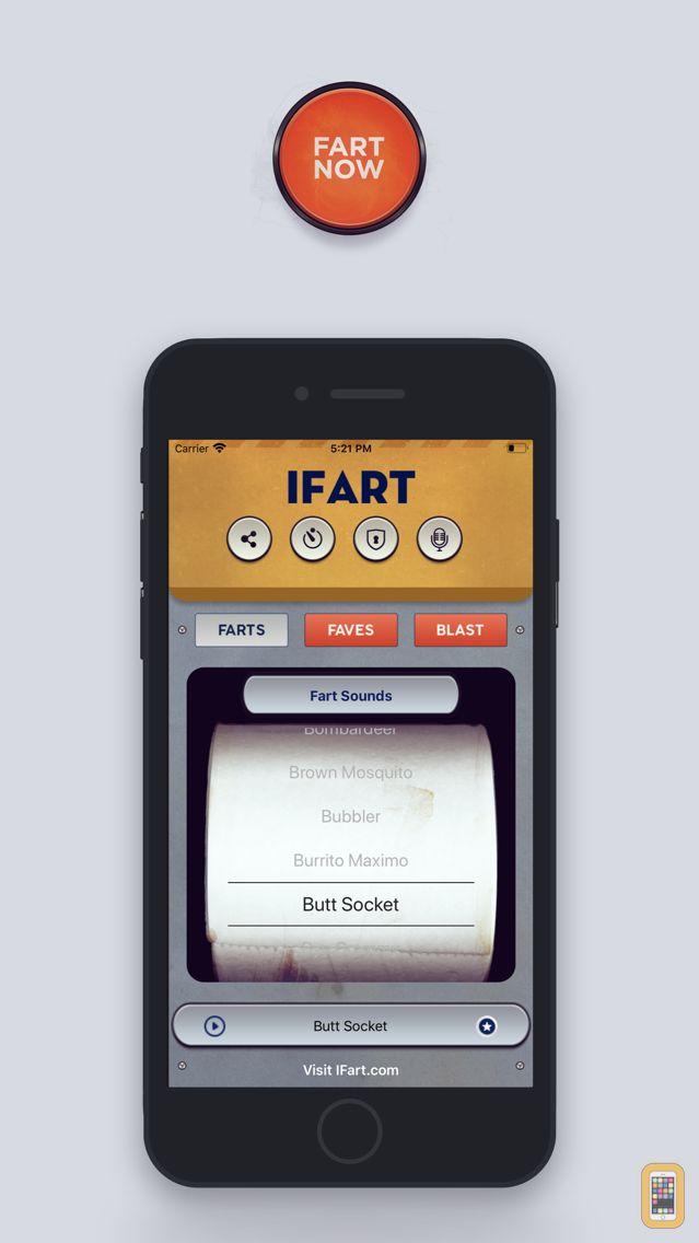 Screenshot - iFart - The Original Fart Sounds App