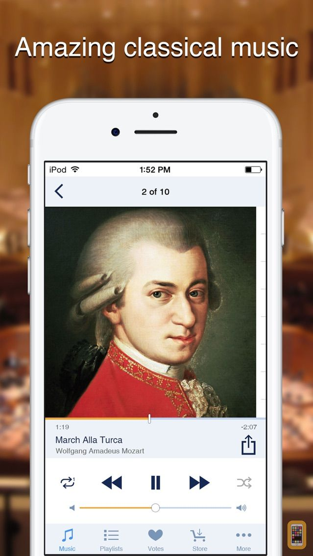 Screenshot - Sonata - Classical Music Radio