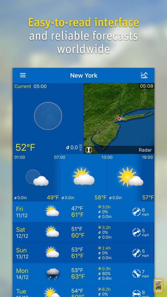 Screenshot - WeatherPro
