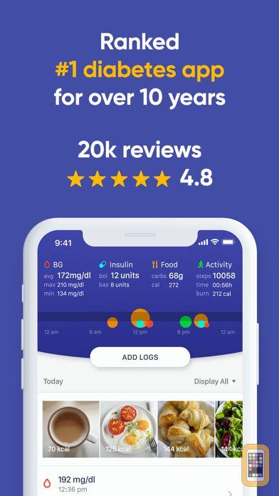 Screenshot - Glucose Buddy Diabetes Tracker