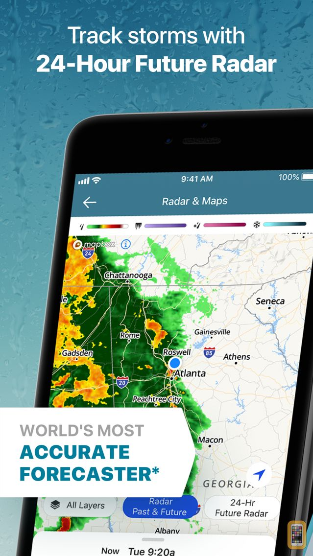 Screenshot - The Weather Channel: Forecast
