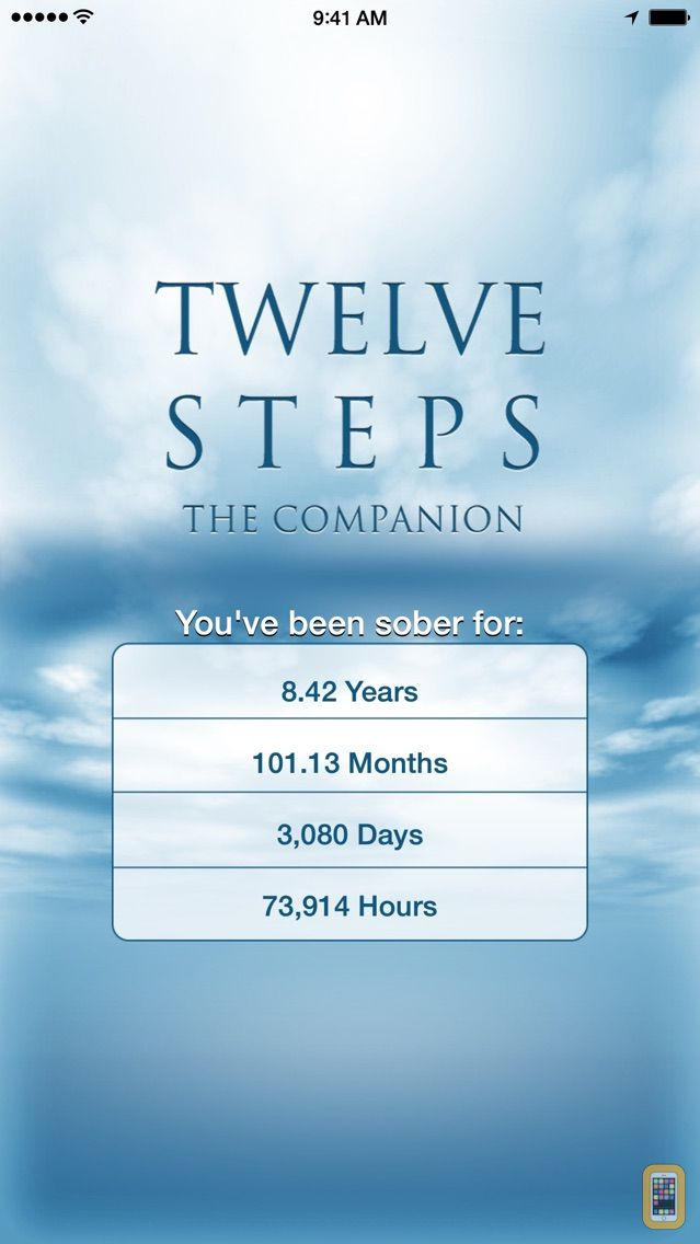 Screenshot - 12 Steps Companion AA Big Book