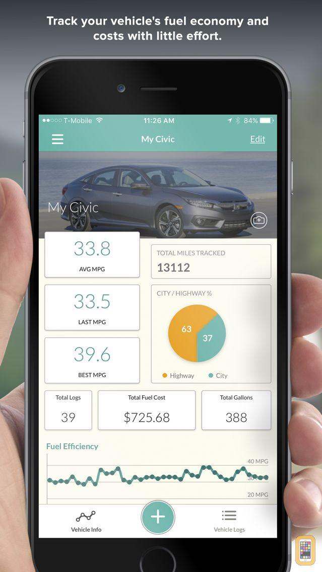 Screenshot - Fuelly: MPG & Service Tracker