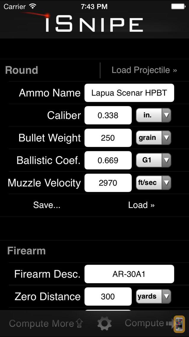 Screenshot - iSnipe