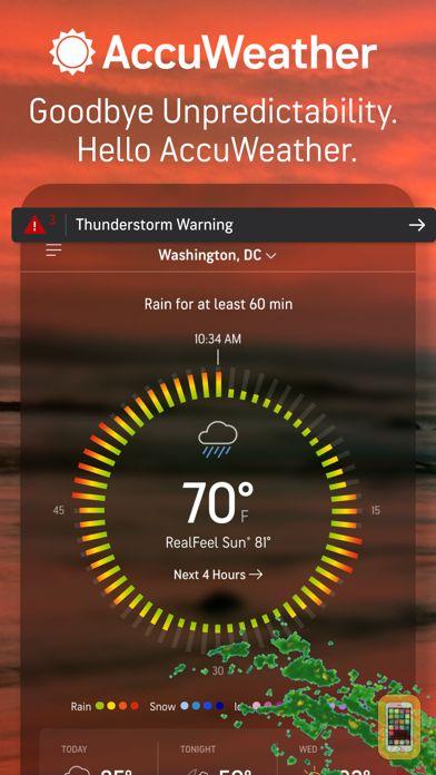 Screenshot - AccuWeather - Superior Accuracy
