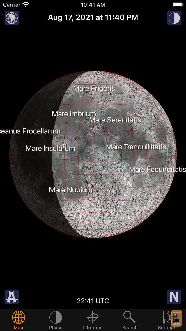 Screenshot - Moon Atlas
