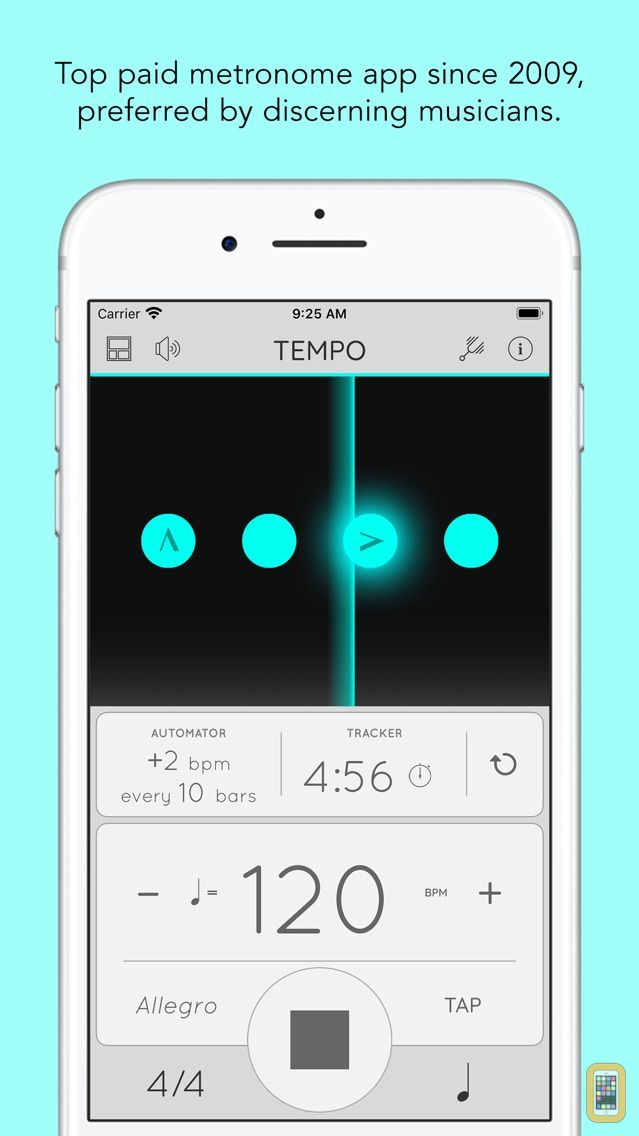 Screenshot - Tempo - Metronome with Setlist