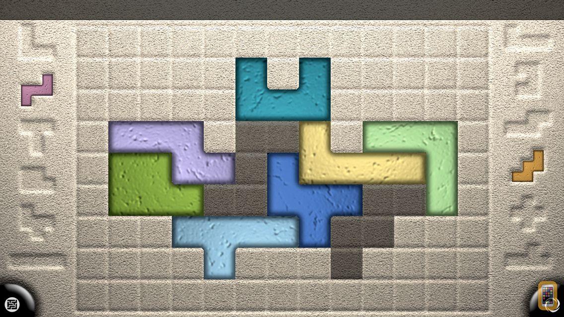 Screenshot - Zentomino Lite - Relaxing alternative to tangram puzzles