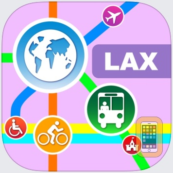 Los Angeles City Maps - Discover LAX MRT & Guides by Networking 2.0 (Universal)