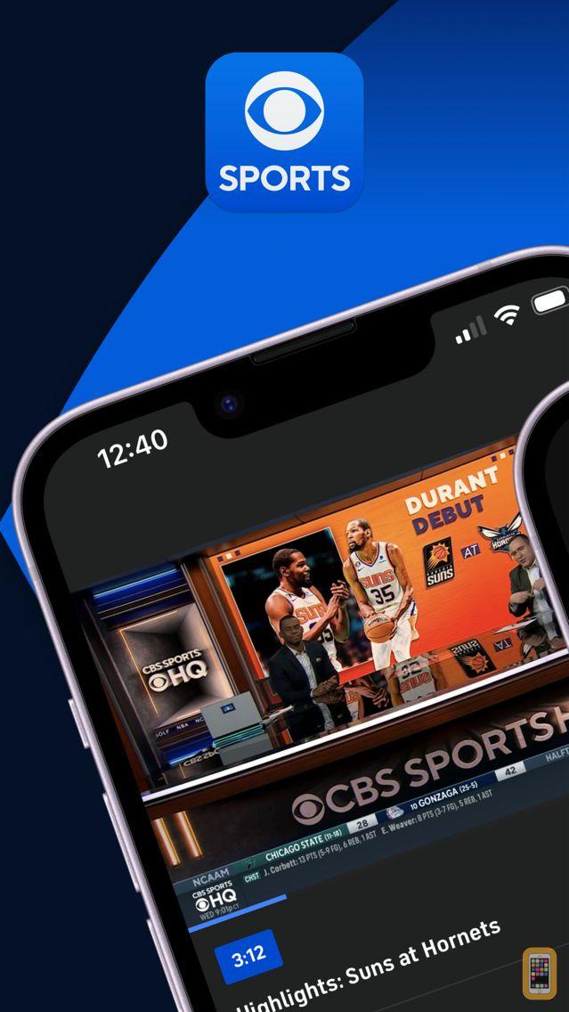 Screenshot - CBS Sports App Scores & News