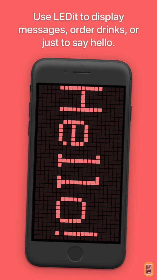 Screenshot - LEDit – The LED Banner App