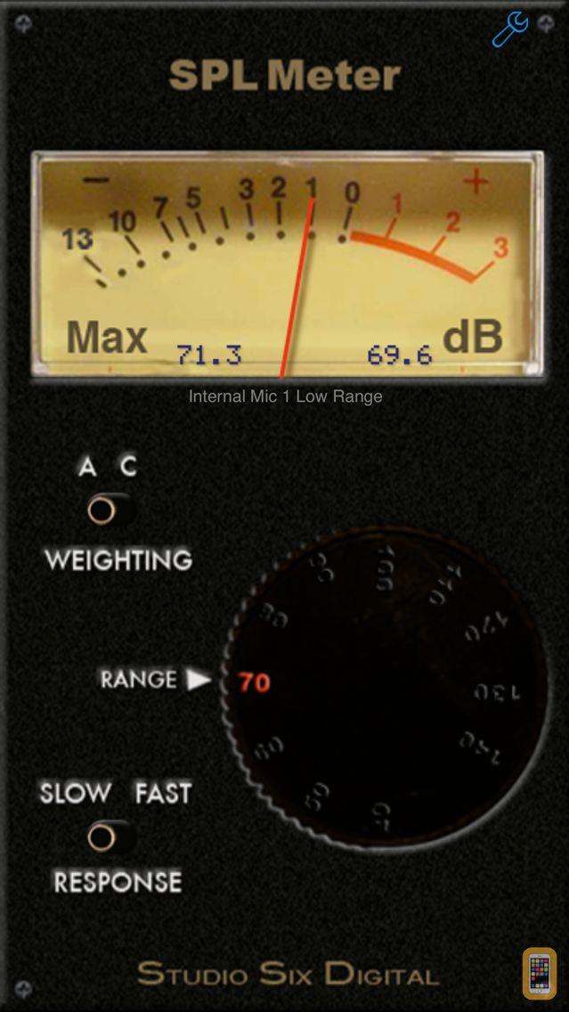 Screenshot - SPL Meter