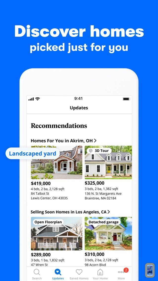 Screenshot - Zillow Real Estate & Rentals