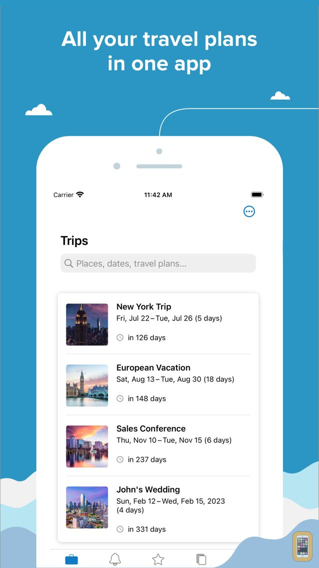 Screenshot - TripIt: Travel Planner