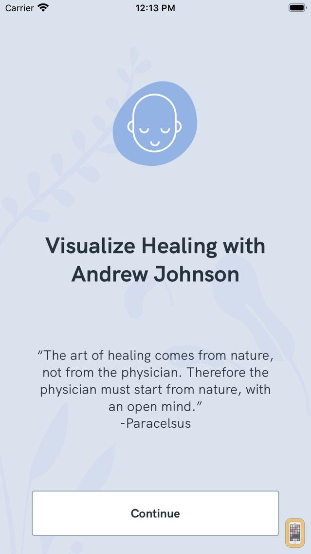 Screenshot - Visualize Healing with Andrew Johnson