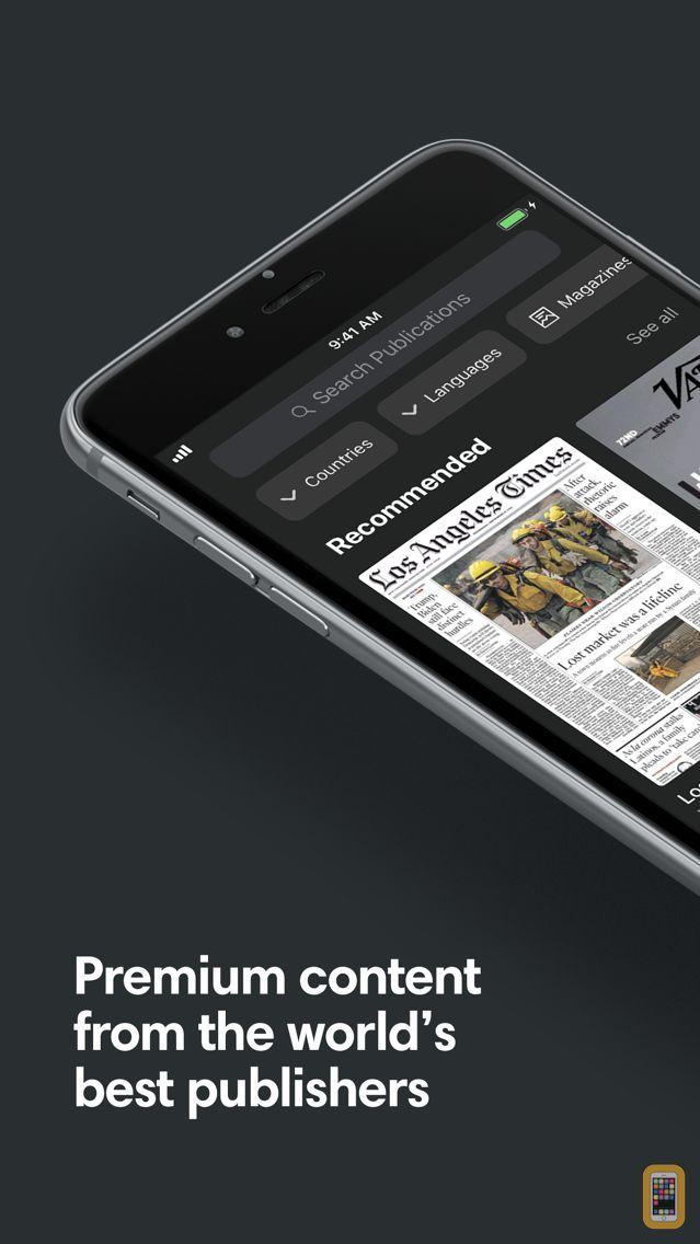 Screenshot - PressReader