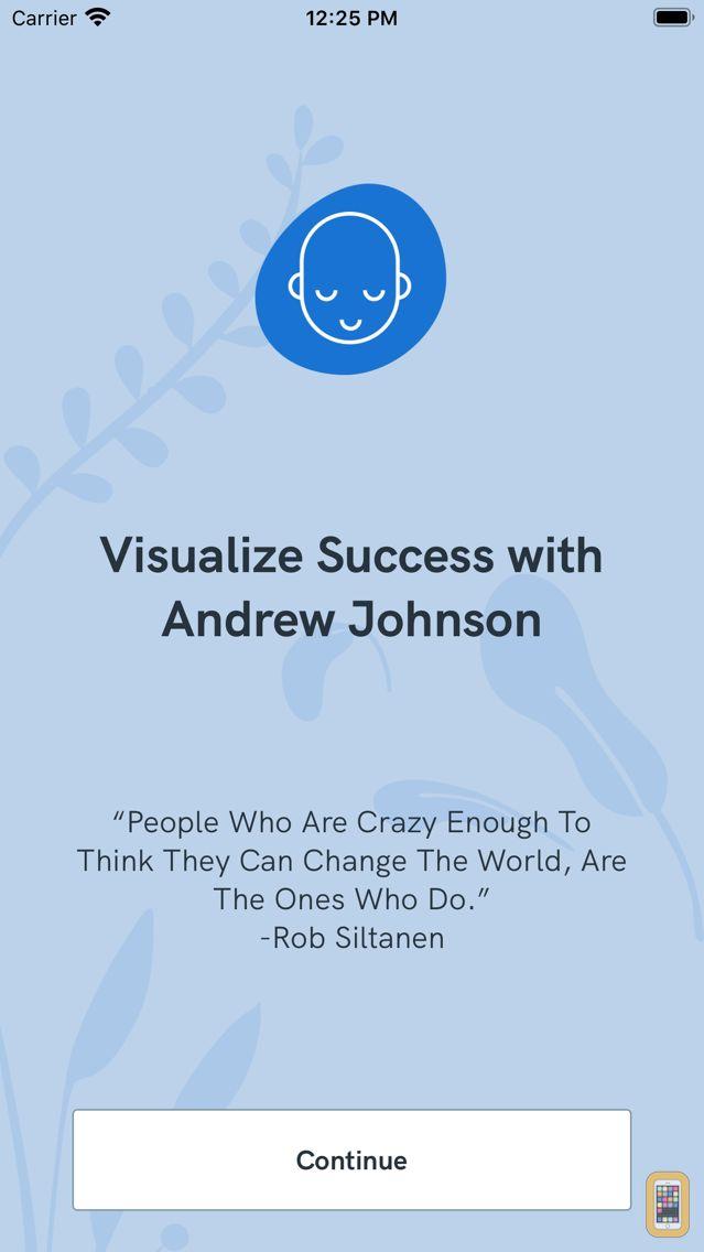 Screenshot - Visualize Success with AJ