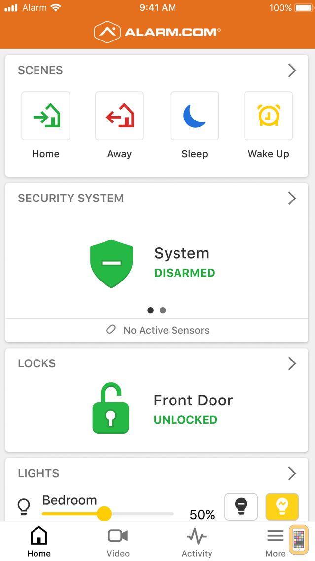 Screenshot - Alarm.com