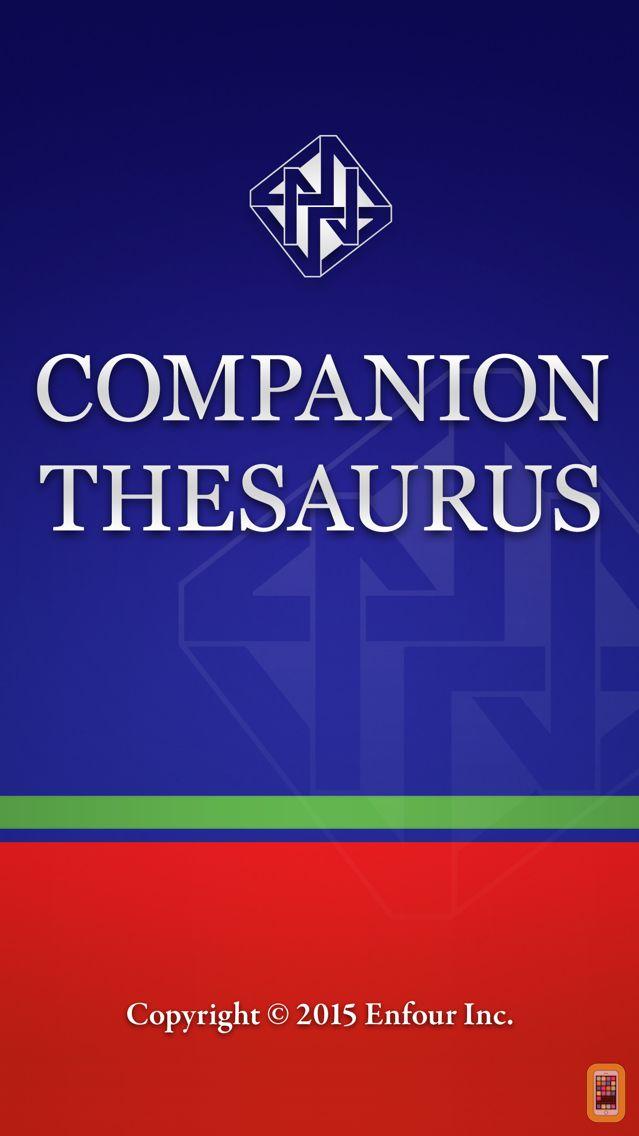 Screenshot - Companion Thesaurus