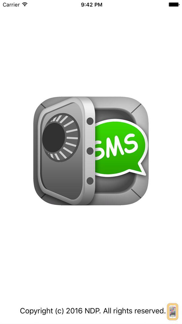 Screenshot - SMS Export